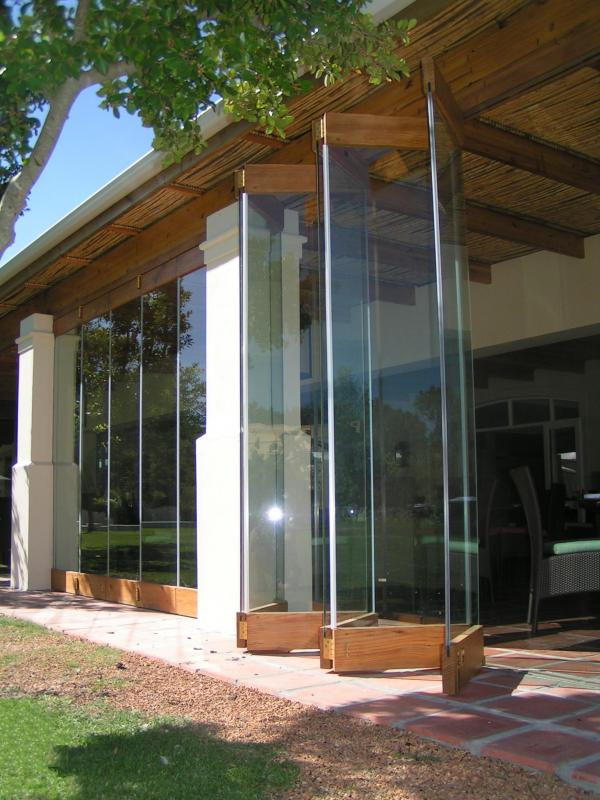 Cypress Folding Door Forest Creations
