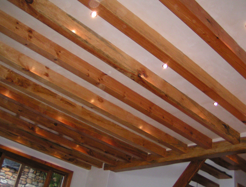 Stone Pine Beams 2 Forest Creations
