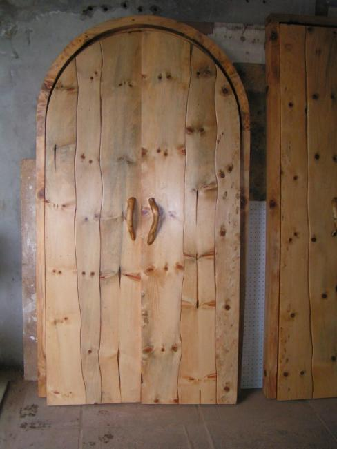 Norfolk Pine Rustic Panelled Door.JPG