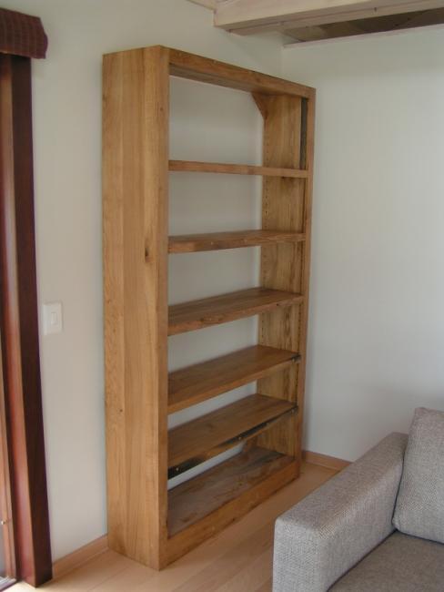 Oak Bookcase Unit.JPG