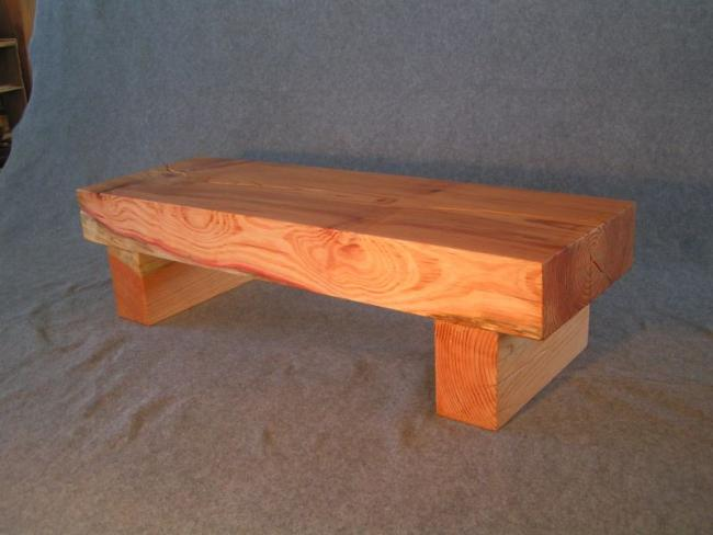 Red Gum Solid coffee Table.JPG