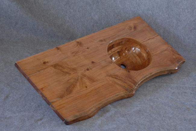 Rustic Cypress Counter Basin.JPG