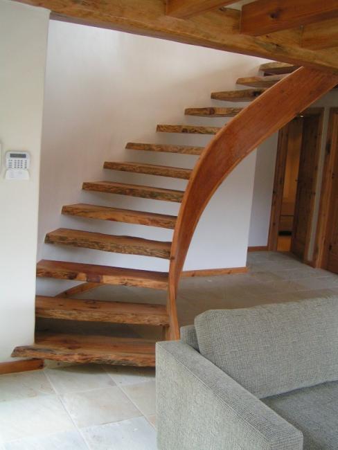 Stone Pine Rustic Staircase.JPG
